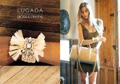 JACKIE & CRYSTAL · www.lugadashoesandbags.com Crystals, Spring, Summer 2015, Crystal, Crystals Minerals