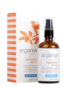 argania Liquid Gold Hair Oil Light 100ml - available at Boots
