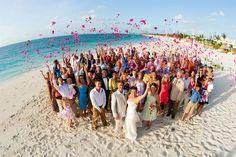 Beach Wedding Photos Beach wedding in the British Virgin Islands Wedding Group Photos, Beach Wedding Photos, Wedding Shot, 2017 Wedding, Beach Weddings, Wedding Pictures, Grace Bay Club, Grace Bay Beach, Turks And Caicos Honeymoon