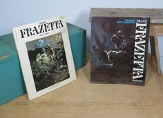 Frank Frazetta Books Three and Four • Frazetta Art Book 1978 1982 • Softcover Frazetta • Fantasy Art by 13thStreetEmporium on Etsy