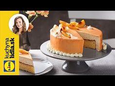 Nektárinková torta so zrkadlovou polevou Lidl, Cheese, Cake, Russian Recipes, Youtube, Food, Polish, Vitreous Enamel, Kuchen
