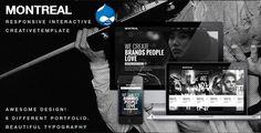Montreal - Responsive Creative Drupal Theme