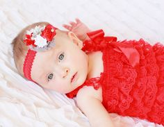 baby girl outfit, red and grey baby romper set,petti romper,baby headband,first birthday photo outfit,headband and petti romper on Etsy, $26.99