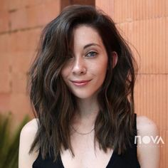 60 Most Magnetizing Hairstyles for Thick Wavy Hair - Medium Choppy Combover Hairstyle - Wavy Hair Men, Haircuts For Wavy Hair, Natural Wavy Hair, Haircut For Thick Hair, Long Wavy Hair, Long Hair Cuts, Fade Haircut, Medium Wavy Hairstyles, Long Textured Hair