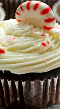 Coca-Cola Chocolate Cupcakes with Peppermint Buttercream Fruit Cupcakes, Yummy Cupcakes, Cupcake Bakery, Cupcake Art, Mint Chocolate Chips, Chocolate Cupcakes, Cola Recipe, Easy Cupcake Recipes, Cupcake Images