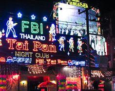 Tai Pan, a famous night club in Patong (Phuket)