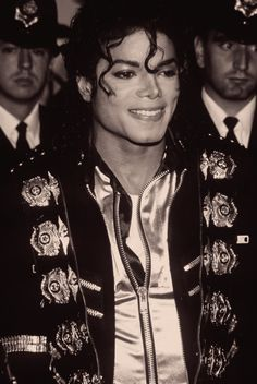 Michael Jackson. He was so handsome