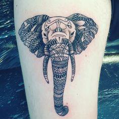 #elephant #tattoo #myfirst