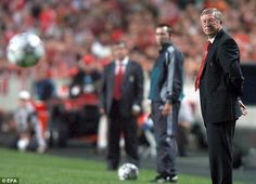 Former Manchester United manager Sir Alex Ferguson blasted Cristiano Ronaldo after his one-man show against Benfica in Lisbon, 2006