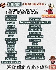 English Speaking Skills, English Writing Skills, Learn English Words, English Study, English Lessons, English Grammar, Teaching English, Connecting Words, Linking Words