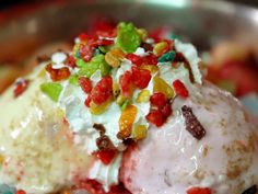 Pat Bing Soo (Korean Shaved Ice) Recipe : Food Network - FoodNetwork.com
