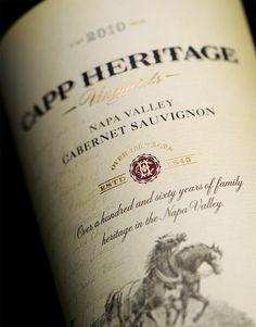 CF Napa Brand Design - Capp Heritage Vineyards