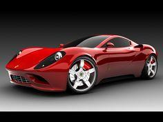 Ferrari love those curves!