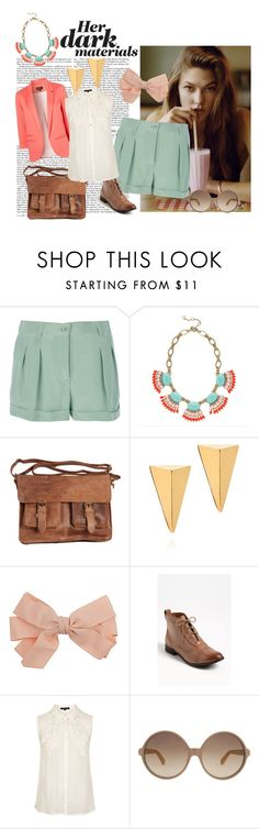 """""""Pastel Milkshake"""" by darling-dreamers ❤ liked on Polyvore featuring Topshop, Moschino, J.Crew, Rowallan, John & Pearl, Dorothy Perkins, Linda Farrow, ankle boots, coral and old leather"""