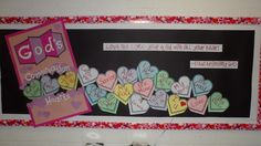 christian bulletin board ideas | found this idea on Pinterest and made it my own! I created the box ...
