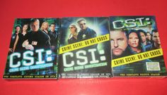 CSI- CRIME SCENE INVESTIGATION Complete Season SECOND, THIRD, FOURTH SEASON DVD #CSI #CrimeSceneInvestigation #williampetersen #marghelgenberger #garydordan #nickstokes #tvshows #drama #action #television http://stores.ebay.com/vinylrockretro/