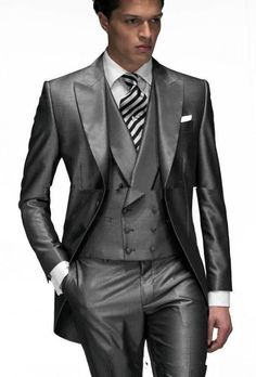 2017 Custom Made Groom Suit Formal Wedding For Men Groomsman Suits Jacket Pants Tie Vest Clic Fit Bridegroom