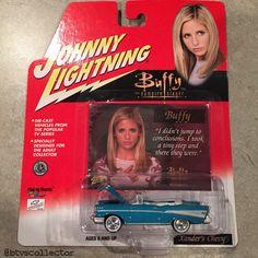 Johnny Lightning - Buffy the Vampire Slayer Collectible Car - Xander's Chevy (Blue). #btvscollector #btvs #buffy #buffythevampireslayer