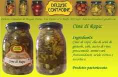 Cime di rapa in olio di semi   Delizie Contadine