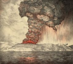 The Krakatoa Sunsets