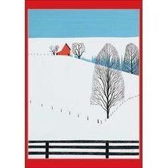 Eyvind Earle - Christmas Card