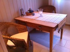 Our kitchen, Kongsberg Norway, Dining Table, Kitchen, Furniture, Home Decor, Cuisine, Homemade Home Decor, Dinning Table Set, Home Kitchens