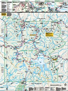 Top Sights At Yellowstone National Park Oh The Places Ill Go - Map of all the us national parks