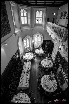 Birdseye view of a Wedding reception at Chiddingstone castle. Image © Ascough Photography Ltd Wedding Reception, Wedding Ideas, St Anne, Fairytale Castle, Best Wedding Photographers, Palaces, Castles, Buildings, Weddings