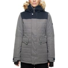 Turn the groomers into your catwalk with the Women's Runway Infi-Loft Jacket. From 686's Authentic line, this technical piece is designed to make you look like a million bucks whether you're debarking the lift or heading to the bars. An InfiDry membrane prevents snow from seeping in, and the seams have been sealed in the most vulnerable areas. Lightweight synthetic insulation blocks out chills even if it does somehow get damp, keeping you toasty through last chair and post-skiing drinks…