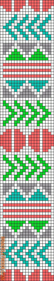Rotated Alpha Pattern added by CWillard Seed Bead Patterns, Peyote Patterns, Beading Patterns, Stitch Patterns, Bead Loom Bracelets, Beaded Bracelet Patterns, Friendship Bracelet Patterns, Pixel Crochet, Crochet Chart