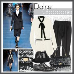 """Dolce & Gabbana Fall 2011 RTW"" by dominikaf on Polyvore"