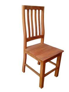 Cadeira Rústica Penny em Madeira de Demolição - 1427 - Bancos e Banquetas - Madeira de Demolição - Barrocarte