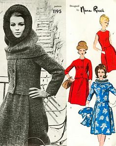 Vintage Fashion by Ricci 1962