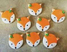 What does the fox say??? #finelyfrosted #cookies #royalicing #fox