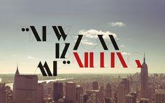 NewModern — Typeface by SAWDUST , via Behance