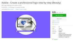 Coupon Udemy - Adobe - Create a professional logo step-by-step (Beauty) ($35…