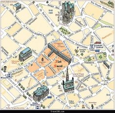 Map of Brussels Tourist - http://travel088.com/map-of-brussels-tourist/