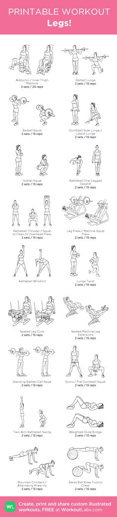 Legs! – my custom workout created at WorkoutLabs.com • Click through to download…