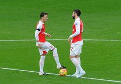 Özil and Giroud.