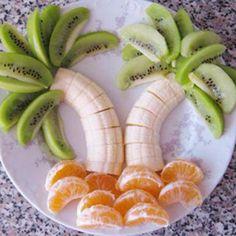 kiwi, platano y gajos de naranja :-)