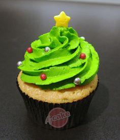 Cupcake pour débutant - Version Noël