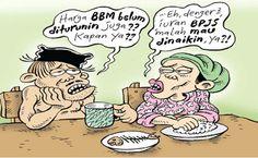 Mice Cartoon, Rakyat Merdeka - April 2016: Harga Polemik Iuran BPJS Kesehatan