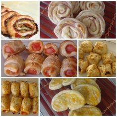 SALADITOS DE HOJLADRE VARIADOS | Cocinar en casa es facilisimo.com Empanadas, Appetizer Recipes, Appetizers, My Recipes, Favorite Recipes, Cute Snacks, Salty Foods, Tasty, Yummy Food