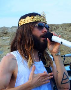 Jared Leto live in Saint Tropez Church of Mars Thirty Seconds to Mars July 24 2014