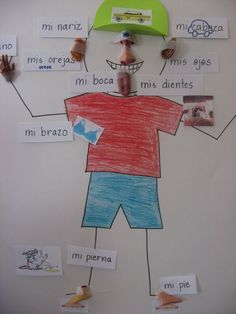 foreign language games.  Ideas that can be modified to do preschool and grade school fl activities. Great game idea for memorizing which can be repeated for other spanish concepts in the future as a future spanish teacher.