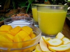 Vitamix Recipes. Raw Vegan Mango Coconut Smoothie. I LOVE making this in my Vitamix. It gets so smooth and creamy.