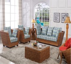 Rattan and Wicker furniture Manufacturer and Wholesaler Outdoor Furniture Sofa, Furniture Sofa Set, Cane Furniture, Rattan Sofa, Furniture Manufacturers, Decorative Pillows, Indoor, Bookshelves, Interior