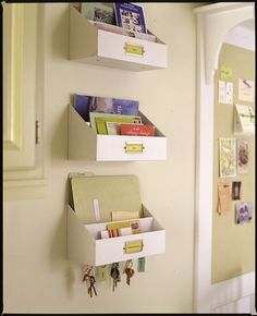 .I so need one of these (or maybe two) to keep me organized!