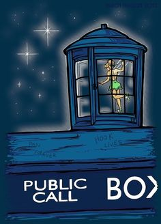 Peter Pan + Doctor Who crossover fan art  By khallion on deviantart