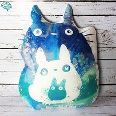 Poduszka Totoro - studiopomyslu - Poduszki dla dzieci